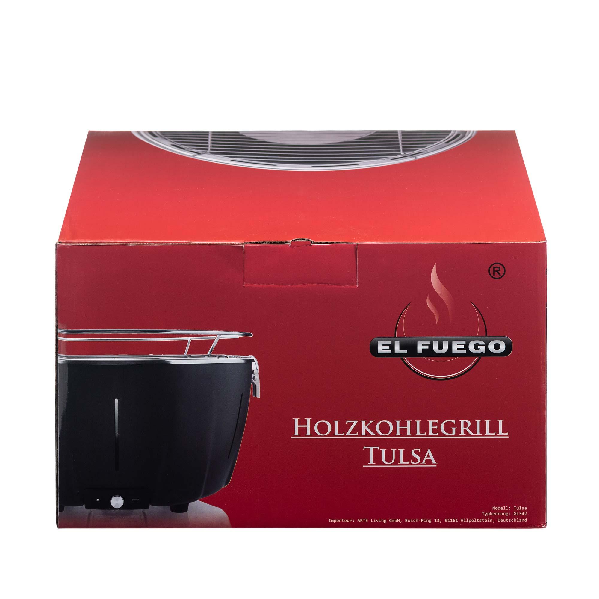 El Fuego Holzkohlegrill Tulsa Die Neue Art Zu Grillen